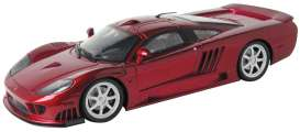 Saleen  - S7 Twin Turbo 2005 metallic red - 1:12 - Motor Max - 73005 - mmax73005r | Tom's Modelauto's