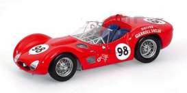 Maserati  - 1960 red - 1:18 - Minichamps - 100601298 - mc100601298 | Tom's Modelauto's