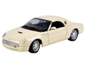 Ford  - Thunderbird 2002 red - 1:24 - Motor Max - 73239r - mmax73239r | Tom's Modelauto's