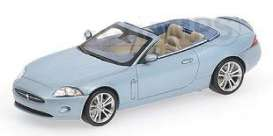 Jaguar  - 2005 metallic blue - 1:43 - Minichamps - 400130530 - mc400130530 | Tom's Modelauto's