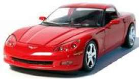 Corvette  - Coupe 2005 victory red - 1:24 - GreenLight - 18202 - gl18202r | Tom's Modelauto's