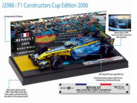 Hotwheels - Renault  - hwmvJ2986 : Renault F1 Alonso World Champion 2006 Special Edition