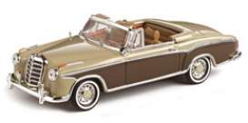 Mercedes Benz  - 1959 light fawn/mid brown - 1:43 - Vitesse SunStar - 28623 - vss28623 | Tom's Modelauto's