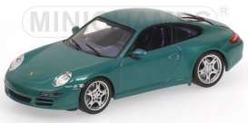 Porsche  - 2004 metallic green - 1:43 - Minichamps - 400063022 - mc400063022 | Tom's Modelauto's