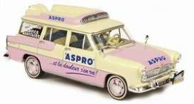Simca  - 1956 yellow/pink - 1:43 - Norev - 570452 - nor570452 | Toms Modelautos