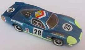 Renault  - 1969 blue - 1:43 - Top Model - top00272 | Tom's Modelauto's