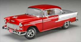 Chevrolet  - 1955 ruby red/silver - 1:18 - ERTL - ertl39365 | Toms Modelautos