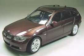 BMW  - 2006 bright red - 1:18 - Kyosho - 8733br - kyo8733br | Toms Modelautos