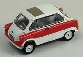 Zundapp  - 1955 red/white - 1:43 - Bizarre - BZ249 | Tom's Modelauto's
