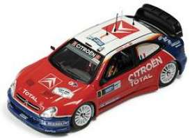 Citroen  - 2005 red - 1:43 - IXO Models - ram206 - ixram206 | Tom's Modelauto's