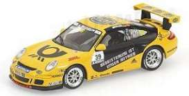 Porsche  - 2006 yellow/black - 1:43 - Minichamps - 400066439 - mc400066439 | Tom's Modelauto's