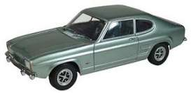 Ford  - 1969 metallic light blue - 1:18 - Minichamps - 150089002 - mc150089002 | Tom's Modelauto's