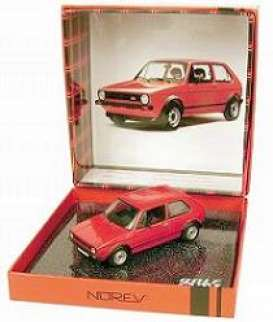 Volkswagen  - 1976 red - 1:43 - Norev - 840040 - nor840040 | Tom's Modelauto's
