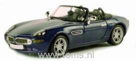 BMW  - 2001 metallic blue - 1:43 - Norev - 350021 - nor350021 | Tom's Modelauto's