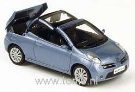 Nissan  - 2005 metallic grey - 1:43 - Norev - 420130 - nor420130 | Toms Modelautos