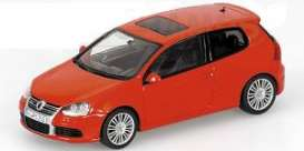 Volkswagen  - 2005 red - 1:43 - Minichamps - 400054500 - mc400054500 | Tom's Modelauto's