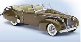 Packard  - 1940 cubana tan - 1:24 - Franklin Mint - fb11e269 | Tom's Modelauto's