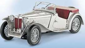 MG  - 1948 silver - 1:24 - Franklin Mint - fb11e288 | Toms Modelautos