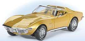 Corvette  - 1971 gold - 1:24 - Franklin Mint - fb11e272 | Tom's Modelauto's