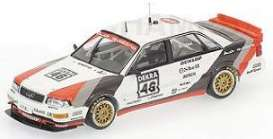 Audi  - 1991 red/white/black - 1:43 - Minichamps - 400911046 - mc400911046 | Toms Modelautos