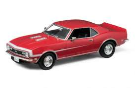 Chevrolet  - 1968 red - 1:18 - Welly - 12556r - welly12556r | Tom's Modelauto's