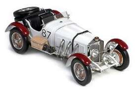 Mercedes Benz  - 1931 white/burgundy - 1:18 - CMC - 055 - cmc055 | Tom's Modelauto's