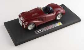 Ferrari  - 125 S 1947 red-brown - 1:18 - Hotwheels Elite - L7118 - hwmvL7118 | Tom's Modelauto's