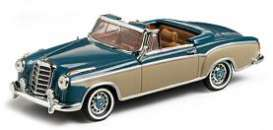Mercedes  - 1959 light blue/cream - 1:43 - Vitesse SunStar - vss28625 | Tom's Modelauto's