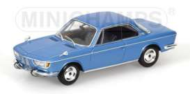 BMW  - 1967 metallic light blue - 1:43 - Minichamps - 400025020 - mc400025020 | Tom's Modelauto's
