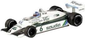Williams Ford - 1982 white/green - 1:43 - Minichamps - mc436820106 | Tom's Modelauto's