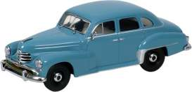 Opel  - 1951 blue - 1:43 - Minichamps - 430043308 - mc430043308 | Tom's Modelauto's