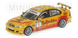 Minichamps - BMW  - mc400042401 : BMW 320I *Hasseroeder* Team Schubert Motors Champion DMSB 2004m Claudia Huertgen