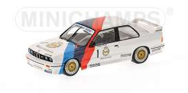 BMW  - 1987  - 1:43 - Minichamps - 430872001 - mc430872001 | Tom's Modelauto's