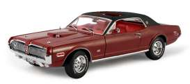 Mercury  - Cougar XR7G 1968 red - 1:18 - SunStar - 1570 - sun1570 | Tom's Modelauto's