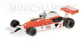 McLaren  - 1977 red/white - 1:43 - Minichamps - mc530774302 | Tom's Modelauto's