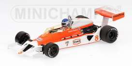 McLaren  - 1978 orange/white - 1:43 - Minichamps - 530784308 - mc530784308 | Toms Modelautos
