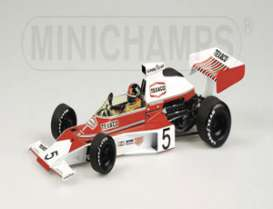 McLaren  - 1975 red/white - 1:18 - Minichamps - mc530751801 | Tom's Modelauto's