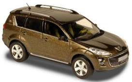 Peugeot  - 2007 gold - 1:43 - Norev - nor474071 | Tom's Modelauto's