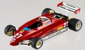 Ferrari  - 1982 red/white - 1:43 - Hotwheels Elite - mvN5580 - hwmvN5580 | Tom's Modelauto's