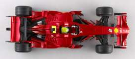 Ferrari  - F1 2008 2008 cherry red - 1:18 - Hotwheels - mv0549 - hwmvM0549 | Tom's Modelauto's