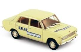 Seat  - 1969 yellow - 1:43 - Norev - 740075 - nor740075 | Tom's Modelauto's