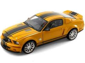 Shelby  - 2008 orange w/black stripes - 1:18 - Shelby Collectibles - shelby85ss02 | Tom's Modelauto's