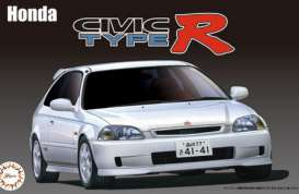 Honda  - Cívic Type R late model (EK9)  - 1:24 - Fujimi - 039879 - fuji039879 | Tom's Modelauto's