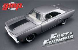 Plymouth  - 1970 grey  - 1:18 - GMP - gmp18857 | Tom's Modelauto's