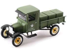 Signature Models - Ford  - sig32521gn : 1923 Ford Model TT Stake Truck, army green