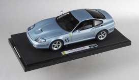 Hotwheels Elite - Ferrari  - hwmvp9906 : 2003 Ferrari 575 MM *Bad Boys 2* by Colombia pictures/Sony, grey allow