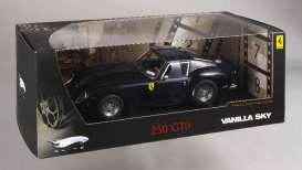 Hotwheels Elite - Ferrari  - hwmvp9909 : 1962 Ferrari GTO *Vanilla Sky with Tom Cruise* by paramount picture's, blue pozzi