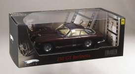 Hotwheels Elite - Ferrari  - hwmvp9912 : 1963 Ferrari 250 GT Berlinetta Lusso owned, driven and raced by actor Steve McQueen. the Car was build to McQueen's Spefication including the rare colour chestnut brown metallic. License plate IFC 007. Elite packaging will show the car and Steve McQueen.