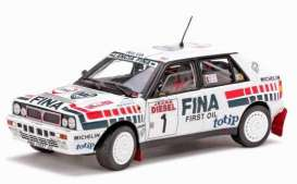 Lancia  - 1991 white/red - 1:18 - SunStar - 3119 - sun3119 | Tom's Modelauto's