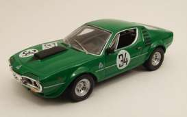 Alfa Romeo  - 1973 green - 1:43 - M4 Collection - m4007081 | Tom's Modelauto's